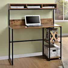 desk office desk with shelves computer lap desk compact office desk computer desk furniture
