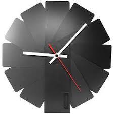 <b>Часы настенные Transformer Clock</b>. Black & Black купить: цена на ...