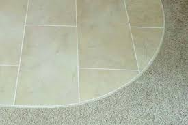 carpet to tile transition. tile to carpet transition options - the tuck-in method m