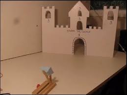 Game With Wooden Sticks Popsicle stick Catapult Game YouTube 60