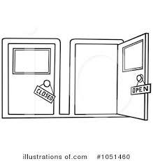 open and closed door clipart. Attractive Open And Closed Door Clipart With