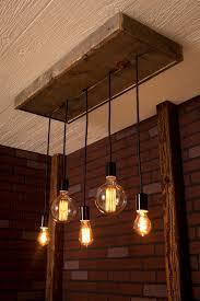 edison lamp wooden chandelier closdurocnoir com