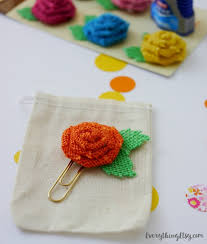 Flower Paper Clips Diy Planner Paper Clips Pretty Planner Ideas