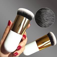 2018 <b>New Chubby Pier</b> Foundation Brush Flat Cream Makeup ...
