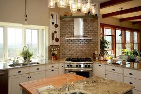 Corner Stove Kitchen Design