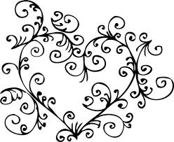 Heart Scrolls Heart Scroll All In The Invite