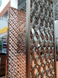 decorative rose golden stainless steel