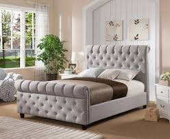New England Style Bedroom Furniture New England Style Chesterfield Modern Luxury Grey Velvet Fabric
