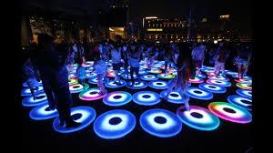 Light Up Floor Mat Wholesale Mats Tile Panels Light Up Illuminated Rgb Interactive Portable Round Led Dance Floor