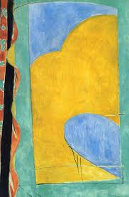 henri matisse the yellow curtain 1915 with his fauvist color and drawing matisse comes very close to pure abstraction