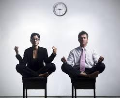 Image Businessman Office Meditation Pinterest Office Meditation Yoga Asanas Pinterest Wellness Workplace