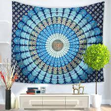 wall art tapestry modern minimalist bohemian mandala tapestry polyester wall art tapestry wall hanging yoga beach wall art tapestry