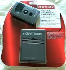 craftsman remote garage door opener craftsman
