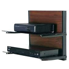 Floating Shelves For Dvd Player Etc Impressive Floating Shelves For Dvd Players Player Wall Shelf Mounted Bracket