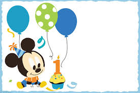 Free Printable Baby Mickey Mouse Invitations Free Printable Baby Mickey Mouse Invitation Invitations Online