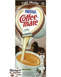 Save with creamer coupons, coupon codes, sales for great discounts in february 2021. Nestle Carnation Coffee Mate Cafe Mocha Individual Liquid Coffee Creamers Formerly Creamy Chocolate Discountcoffee Com