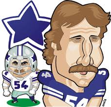 cartoon randy white dallas cowboys um by ca11an ged randy white