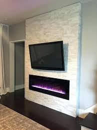 fireplace wall electric built in recessed fireplaces pertaining to flush mount for your tv and inspired stone fireplace with overhead tv and wall