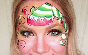 elf face painting