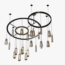 holly hunt clock chandelier