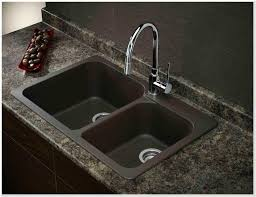 best granite kitchen sinks of stunning as image drop in sink bathroom grey a double silgranit composite bowl stainless steel
