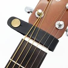 leather guitar strap holder on safe lock for acoustic electric classic guitarra bass