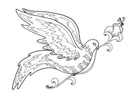Bird Coloring Pictures Free Bird Coloring Pages 8 Flying Bird