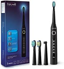 Fairywill <b>Sonic</b> Toothbrush,<b>Electric Toothbrushes</b> Adults Clean <b>Teeth</b>...