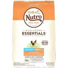 Nutro Wholesome Essentials Large Breed Puppy Farm Raised Chicken Brown Rice Sweet Potato Dry Dog Food