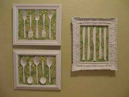 Vintage Metal Grape And White Art Frames For Kitchen Wall Decor Ideas