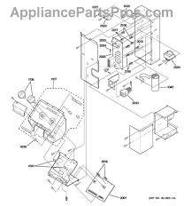 ge wpx main control board com part diagram