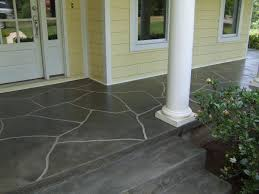 stained concrete patio gray. Roberta Front Porch. This Is Concrete Resurrection\u0027s Dark Slate Stain Stained Patio Gray