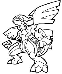 20 Dessins De Coloriage Pokemon Zekrom C3 A0 Imprimerll