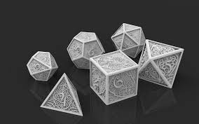 Wladimir Kovalenko The Models For 3d Printing Set Of Dice