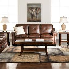 rustic leather living room sets. Newbury Leather Living Room Collection | Jerome\u0027s Furniture Home Decor+ Rustic+Dining+Traditional Rustic Sets