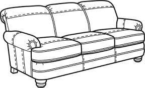 couch clipart black and white.  Couch Couch Clipart Black And White Png Bay Bridge Flexsteel Com Vector  Transparent Download Intended Clipart Black And White B