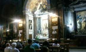 Image result for Photos of St.Andrea delle Fratte Rome