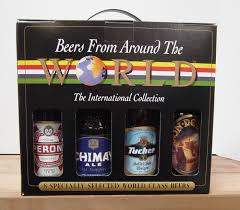 sendchagne gift delivery beer beers of the world orted 8 bottle variety