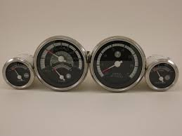 complete set of factory ranger boat gauges