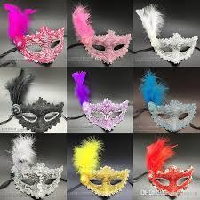 whole feather masquerade venice masks makeup party masquerade decorations masks for masquerade ball maskmasquerade masks black and white