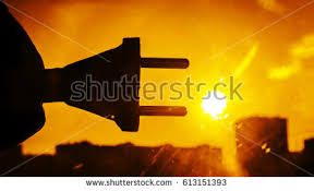 solar plug in stock images royalty images vectors sun energy plug connection ready to get power silhouette of power socket against sun