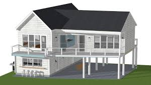 beach house plans on stilts new houseplans small beach cottage house plans sundatic pilings of 20
