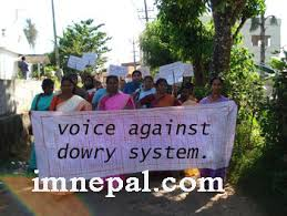 dowry system in marriage is supposed as money making it is harmful to society dowry in