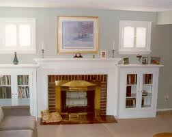 best 25 shelves around fireplace ideas on craftsman wall mirrors home and family