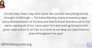 Christian Quotes For New Year