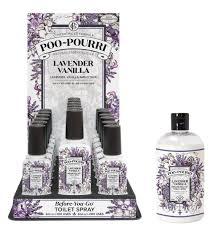 Poo-Pourri E8 Bathroom Spray Odor Neutralizer Lavender Vanilla LV ...