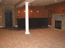 Basement Finishing Design Delectable Interior Design Astounding Finished Basement Ideas With Wood