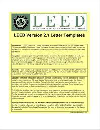 Leed Letter Template Showbizprofile Com