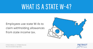 How Do Allowances Affect Withholding State W 4 Detailed Withholding Forms By State Chart