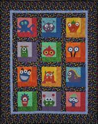 Monster Applique Quilt | Applique quilts, Fabric scraps and Scrap & Another monster quilt Adamdwight.com